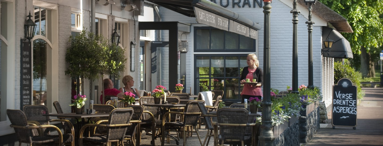 Terras van Boutique Hotel & Brasserie ErkelenS